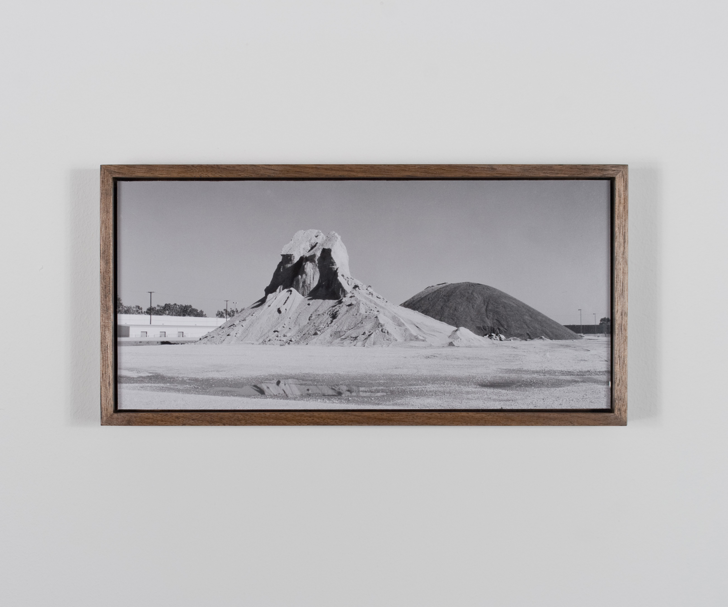 Mount Chaperone, with Mount Hellion 2009/10 Gelatin-silver print on Dibond, with walnut frame