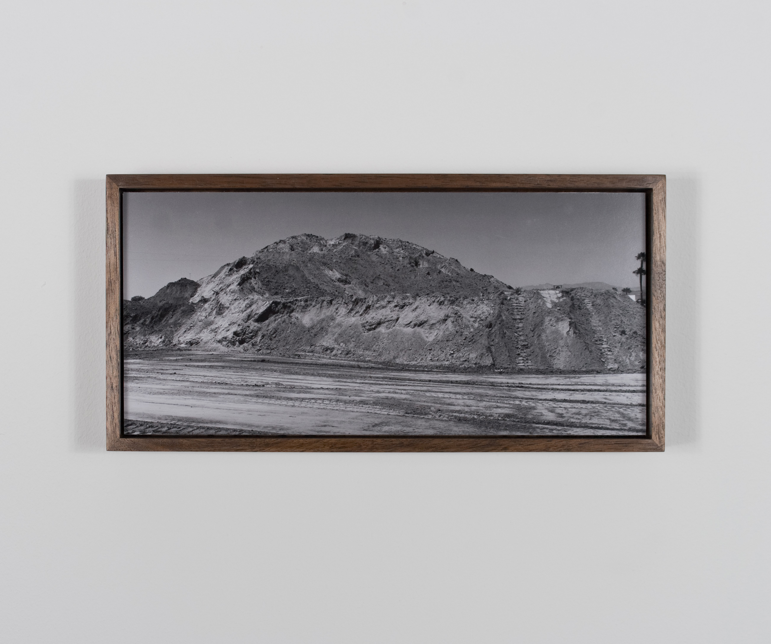 Venal Butte 2009/10 Gelatin-silver print on Dibond, with walnut frame