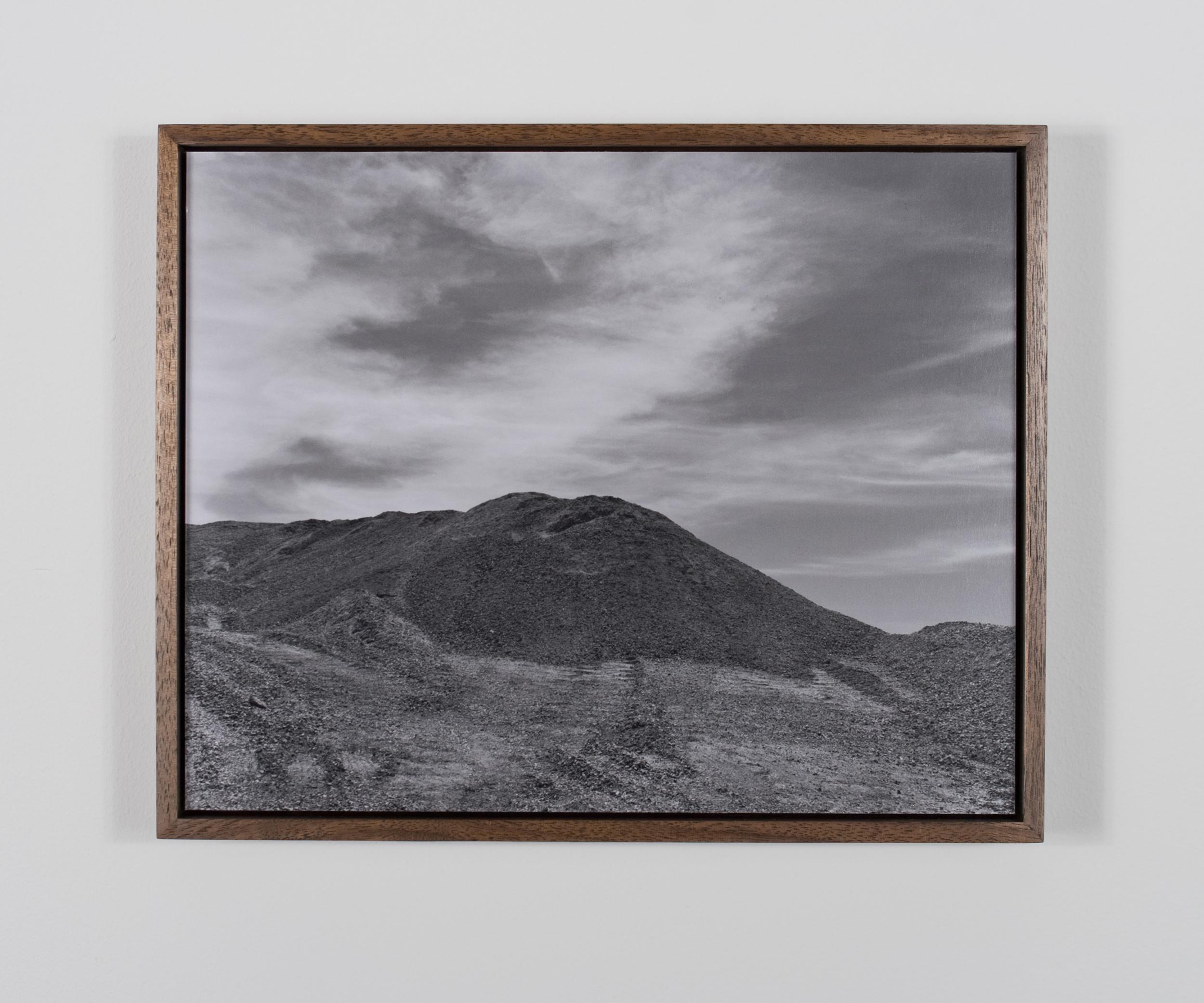 Mount Perfidy (aka Túmulo de La Mesa) 2009/10 Gelatin-silver print on Dibond, with walnut frame