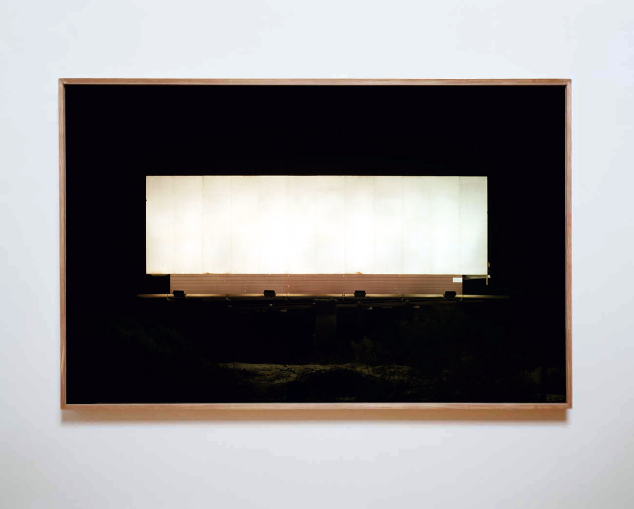 Untitled (Coming Soon) 2007 chromogenic print on Dibond with Alowood frame