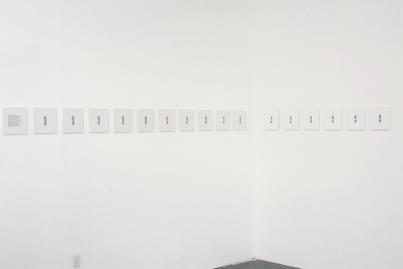 160 Portraits 2002 one didactic, ten chromogenic prints, and six gelatin-silver prints on extruded polyvinyl chloride