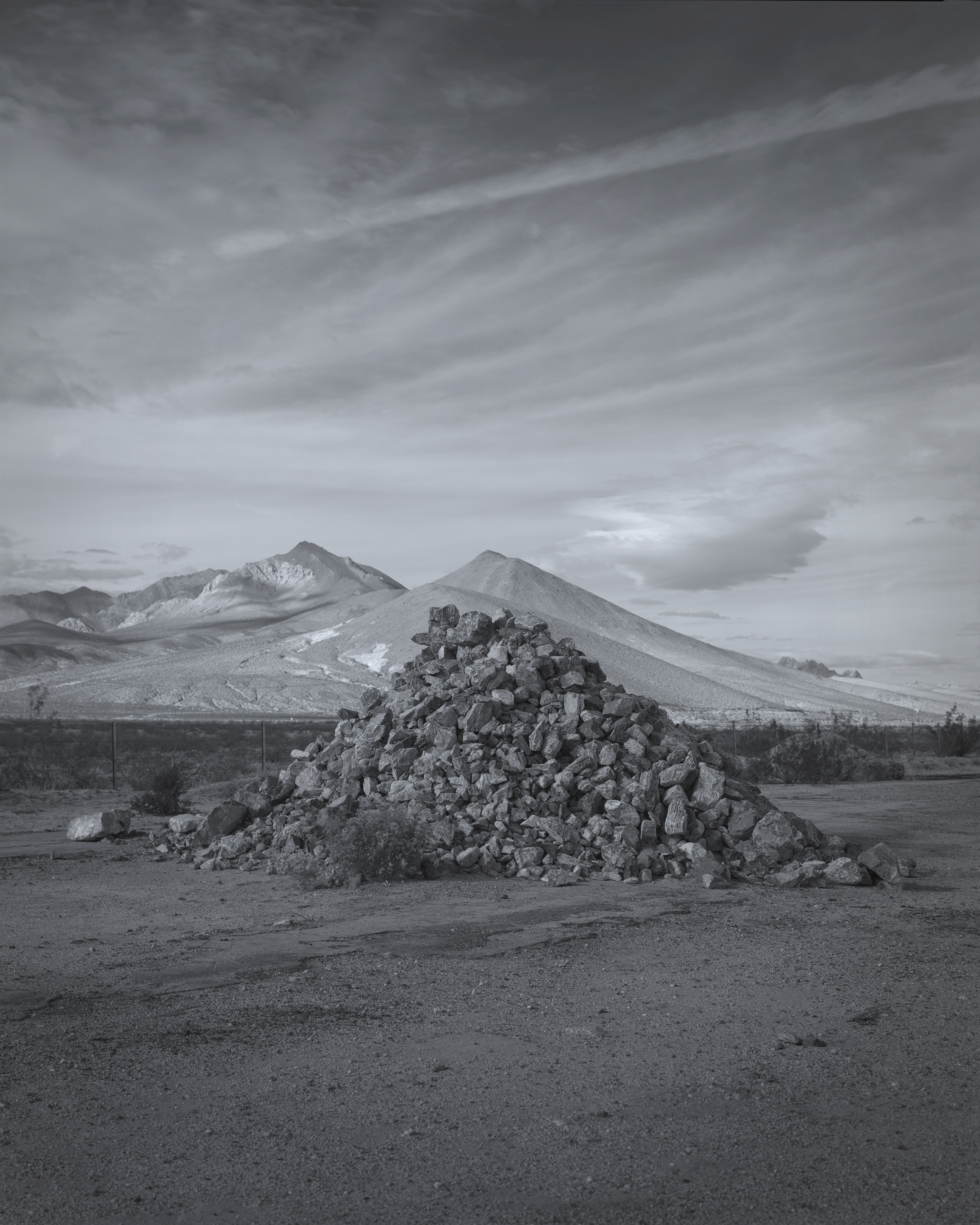 Massing (West of Where) 2018 gelatin-silver print