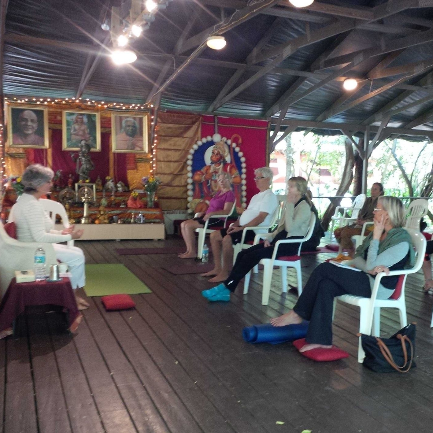 Professional Trainings   Beata offers professional trainings and courses for Osteoporosis Prevention and Treatment at the Sivananda Ashram Yoga Retreat in the Bahamas and at other locations around the world.