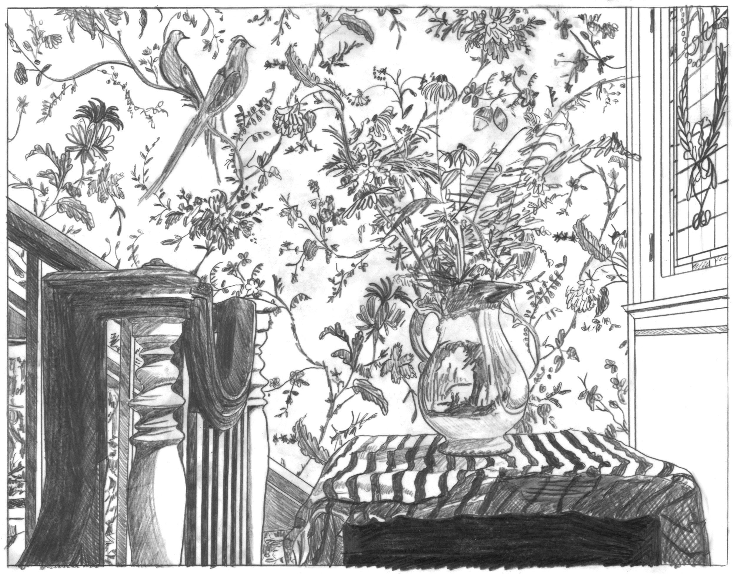 Nest/Domestic Bliss (graphite)
