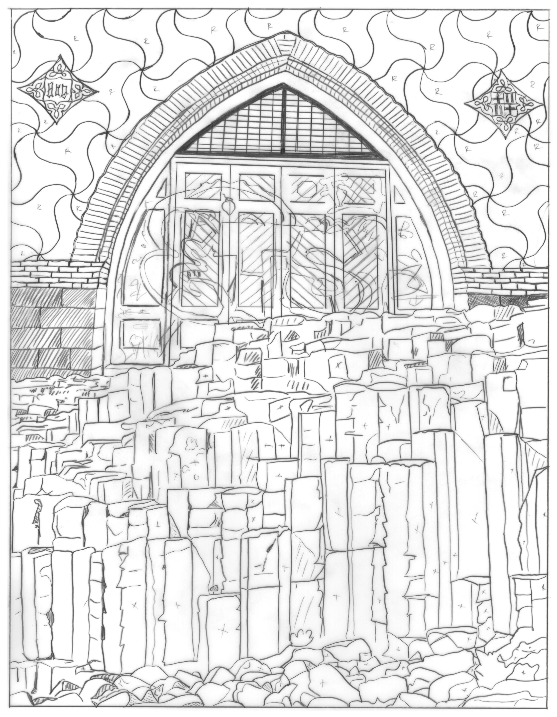 Bricks and Stones May Break (Barcelona/Roman Wall)