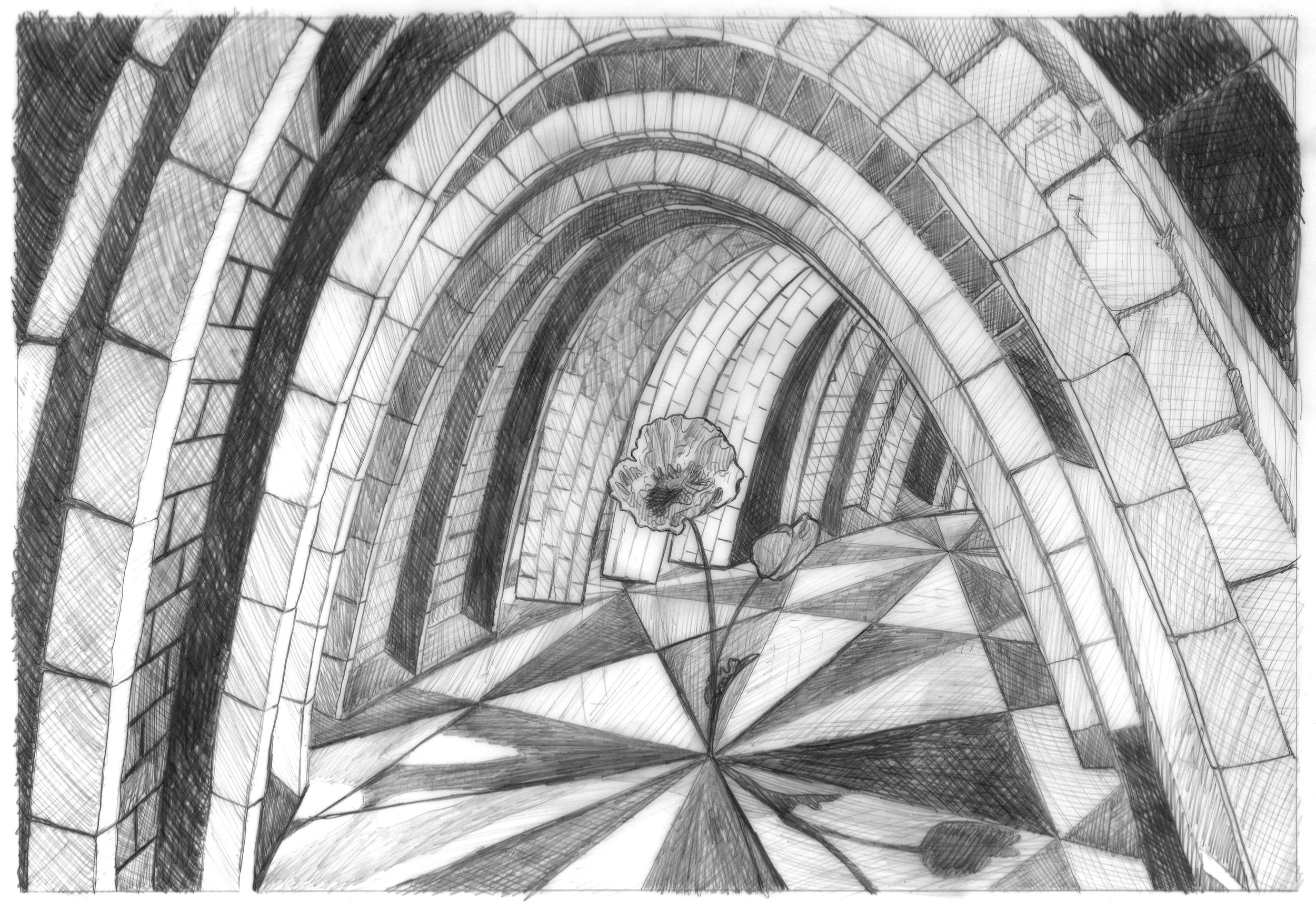 Bricks and Stones May Break (Gaudí's Parabolic Arch)