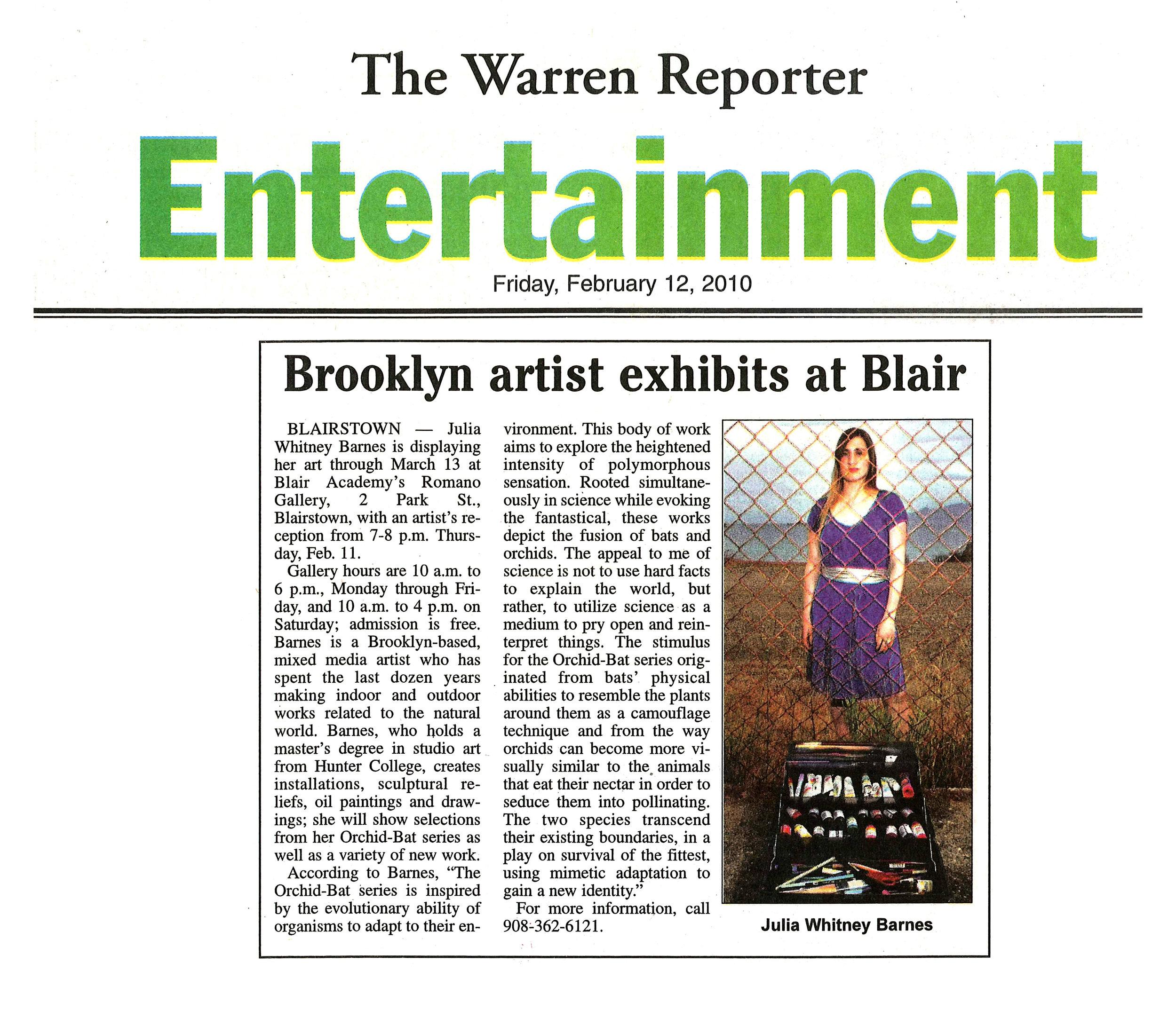 The Warren Reporter