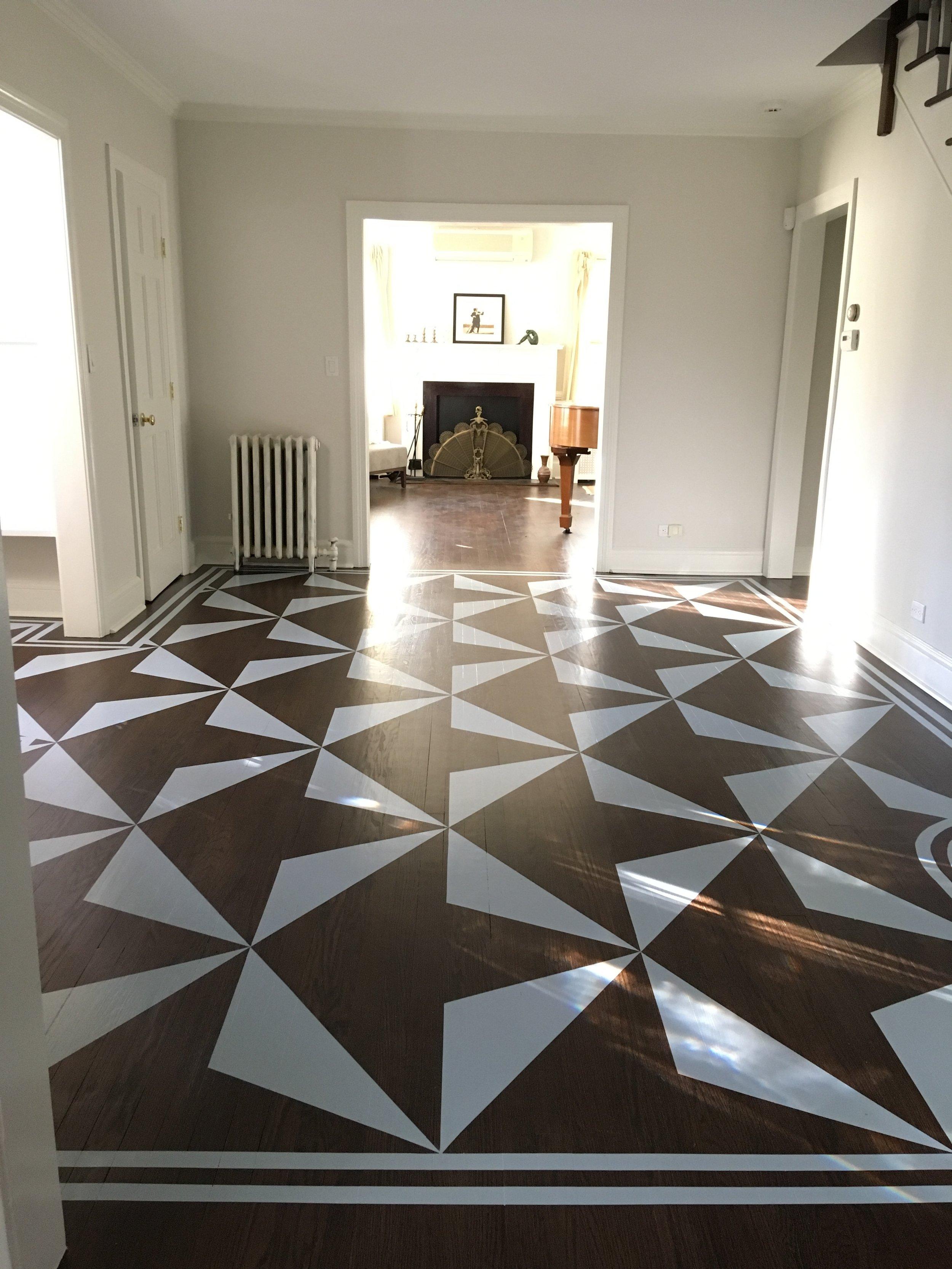 Site Specific Floor Painting