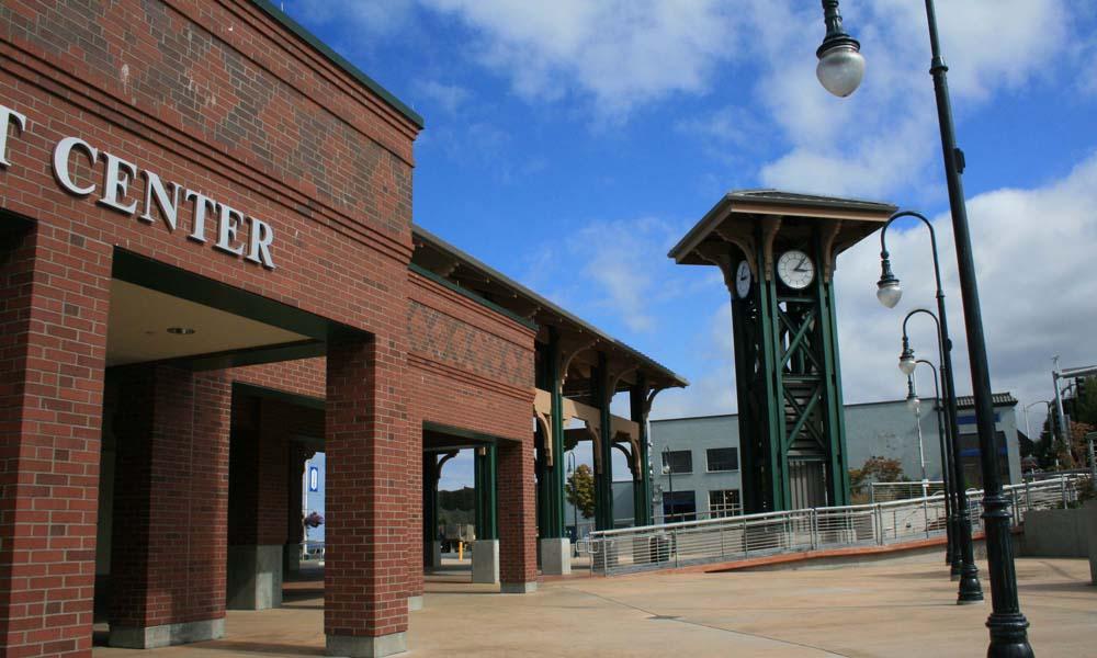 INTERNATIONAL GATEWAY PORT ANGELES , Washington  Owner/Client : Kitsap Transit  Services : Construction Management