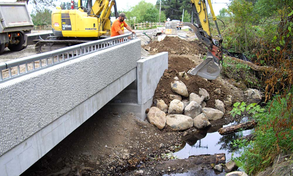 RUSSELL ROAD/MILL CREEK CULVERT , Forks, Washington  Owner/Client : City of Forks  Services : Civil and Structural Engineering, Environmental Permitting