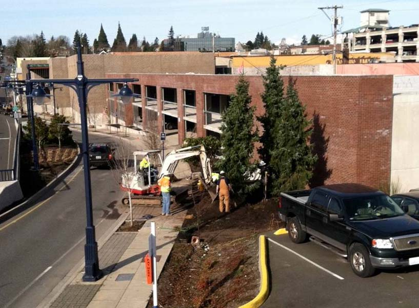 DOWNTOWN BREMERTON PARKING GARAGE , Bremerton, Washington  Owner : City of Bremerton  Client : Lorax Partners  Services : Structural Engineering