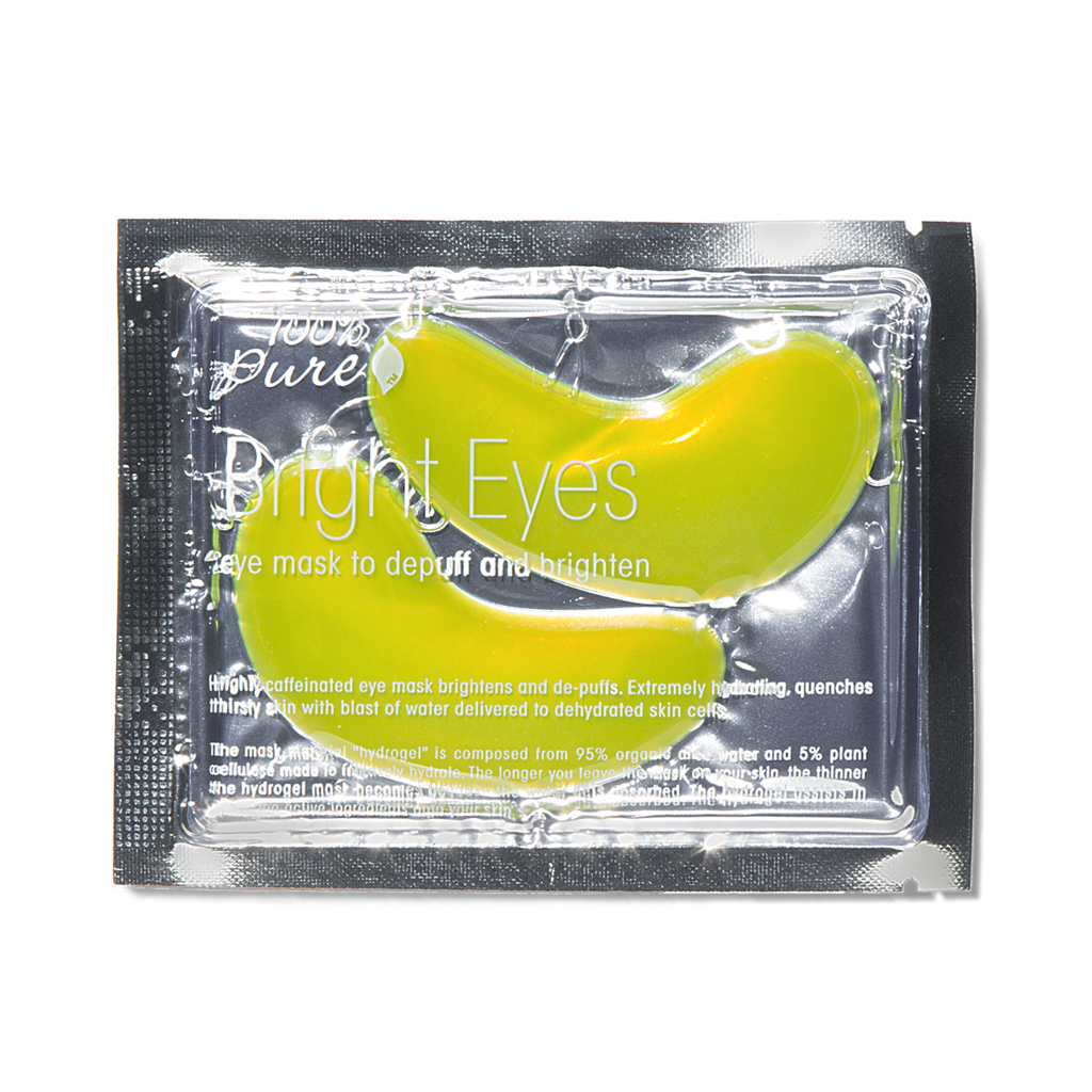 100% PURE Bright Eye Mask // $7 - Brightening, de-puffing, hydrating eye area
