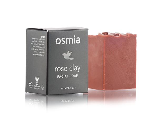 Osmia Rose Clay Facial Soap// $24 - Good For: Dry, mature, or sensitiveHealing, nurturing