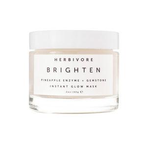 Herbivore Botanicals Brightening Pineapple + Gemstone Instant Glow Mask // $48