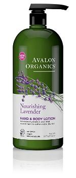 Avalo Organics Hand & Body Lotion // $12 (several scents)