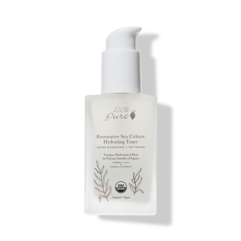 100% PURE Restorative Sea Culture Hydrating Toner // $42 - Good For: All skin types, dryHydrating, nourishing