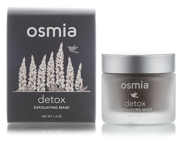 OSMIA ORGANICS Detox Exfoliating Mask // $50 - Good For: All skin types, especially those with clogged poresNourishing raw cacao & raw honey powder, activated bamboo charcoal to gently exfoliate