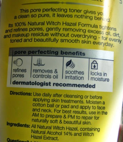 """Just because it says """"natural"""" doesn't make it any better. It's still 14% simple alcohol!"""