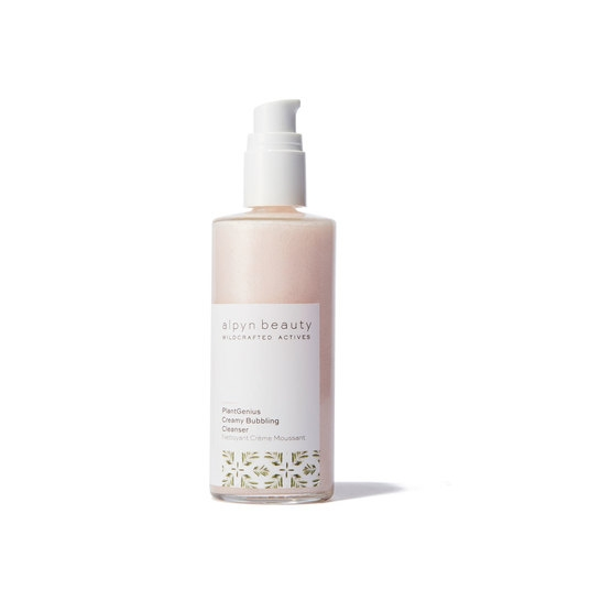 Alpyn Beauty creamy bubbling cleanser // $36 - Good For: Most skin typesAntioxidant rich, exfoliating with enzymes & acids