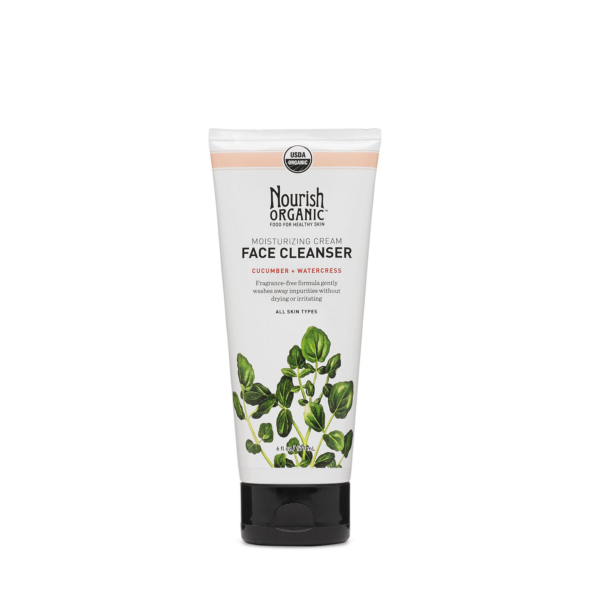 Nourish Organic Moisturizing Cream cleanser // $15 - Good For: All skin typesAnti-oxidant rich, gentle, fragrance free