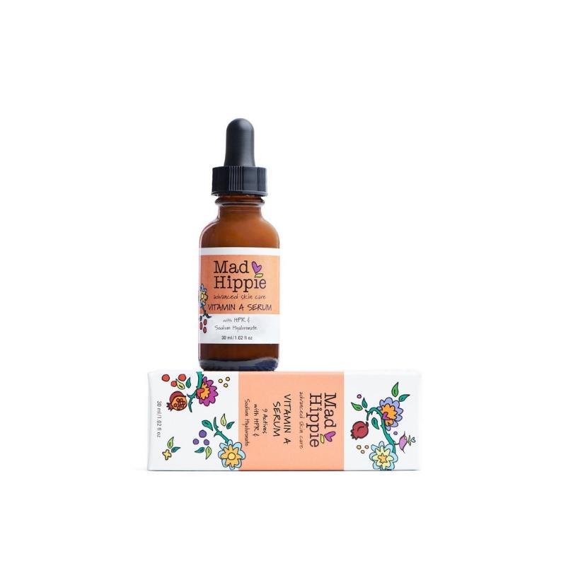 Mad Hippie Vitamin A Serum// $33 - Good For: All skin types, pigmentedNight time exfoliating retinol serum