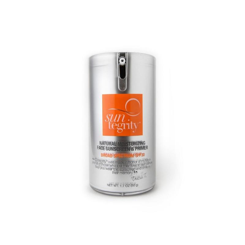 SUNTEGRITY Natural Moisturizing Face Sunscreen + Primer SPF 30 // $45 - Moisturizer + Primer + SPF