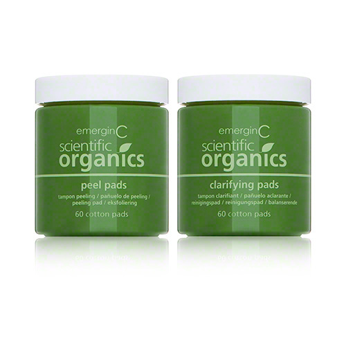 EmerginC organics Peel and Clarifying Kit (2 step) // $90 - Good For: Most skin typesA blend of natural fruit acids to clarify, brighten & dissolve dead skin