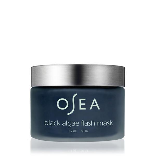 osea black algae flash mask//$48 - Good For: Normal, combination, blemish proneExfoliant + mask to brighten & decongest NOT suitable for sensitive skin