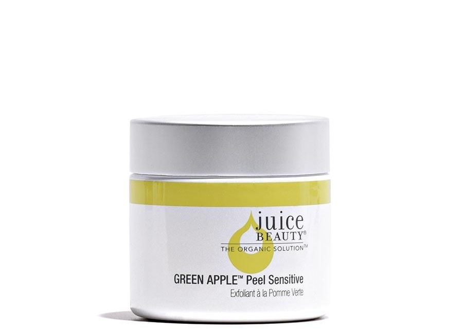 Juice Beauty Green Apple Peel Sensitive //$42 - Good For: Normal, combination, dryAHA - glycolic/malic acid peel for sensitive skin
