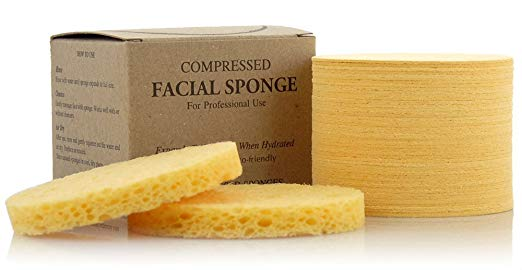 Compressed facial sponges// $24 - 50 count - These are great for removing face masks!