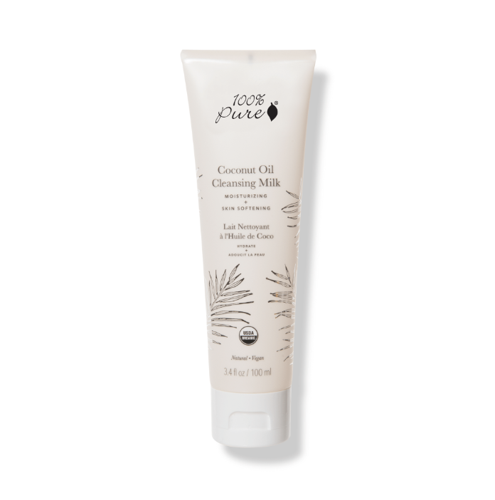 100% Pure Coconut Oil Cleansing Milk // $32 - Good For: Dry, sensitiveHydrating, nourishing
