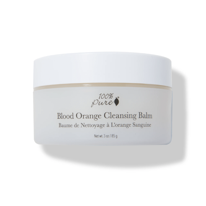 100% Pure Blood Orange Cleansing Balm // $39 - Good For: Normal, dryA rich moisturizing cleansing balm
