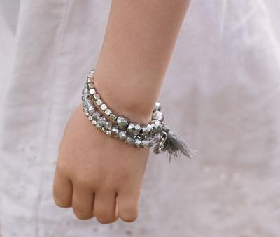 Toddler Hematite Bracelet Set