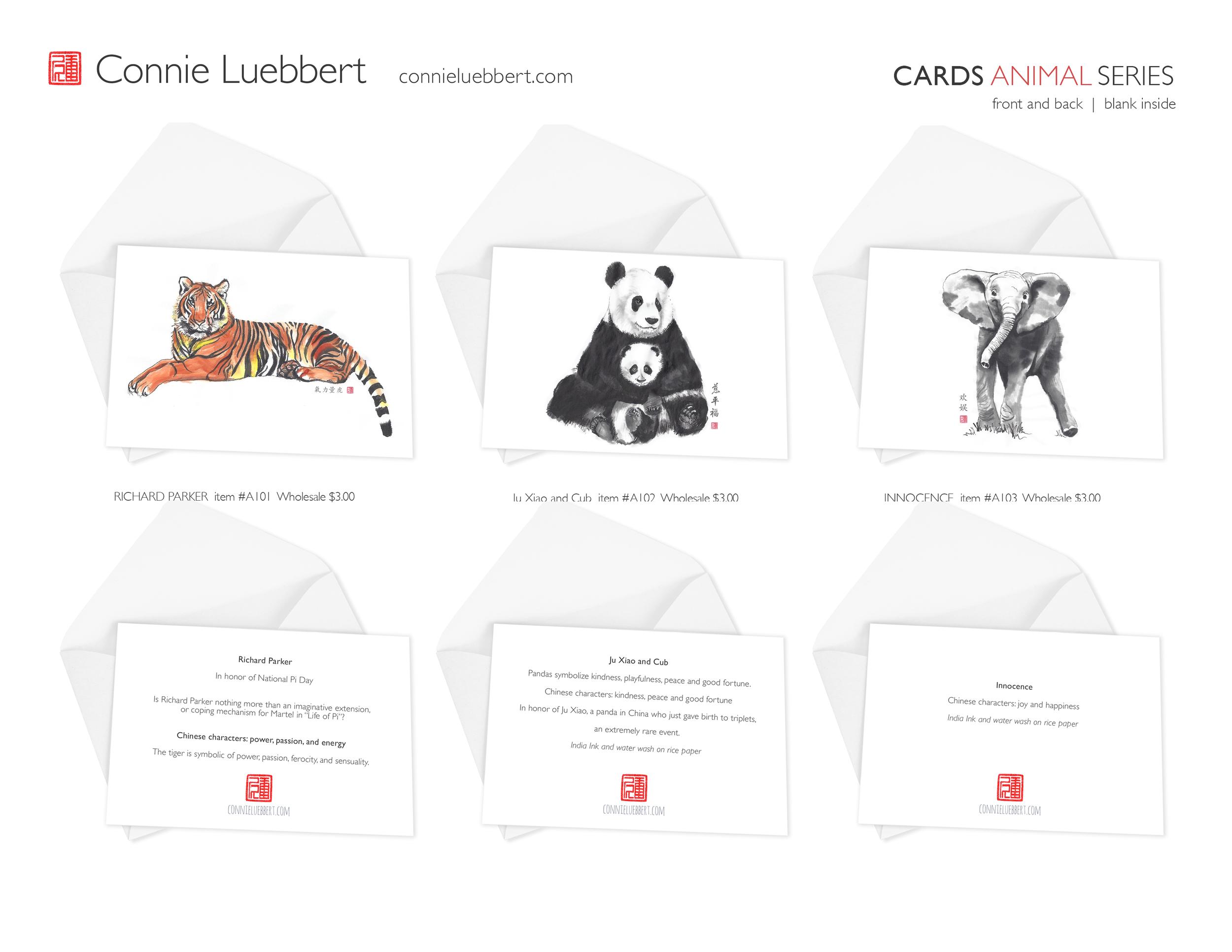 - ANIMAL CARDS: CHARACTERISTICS educational