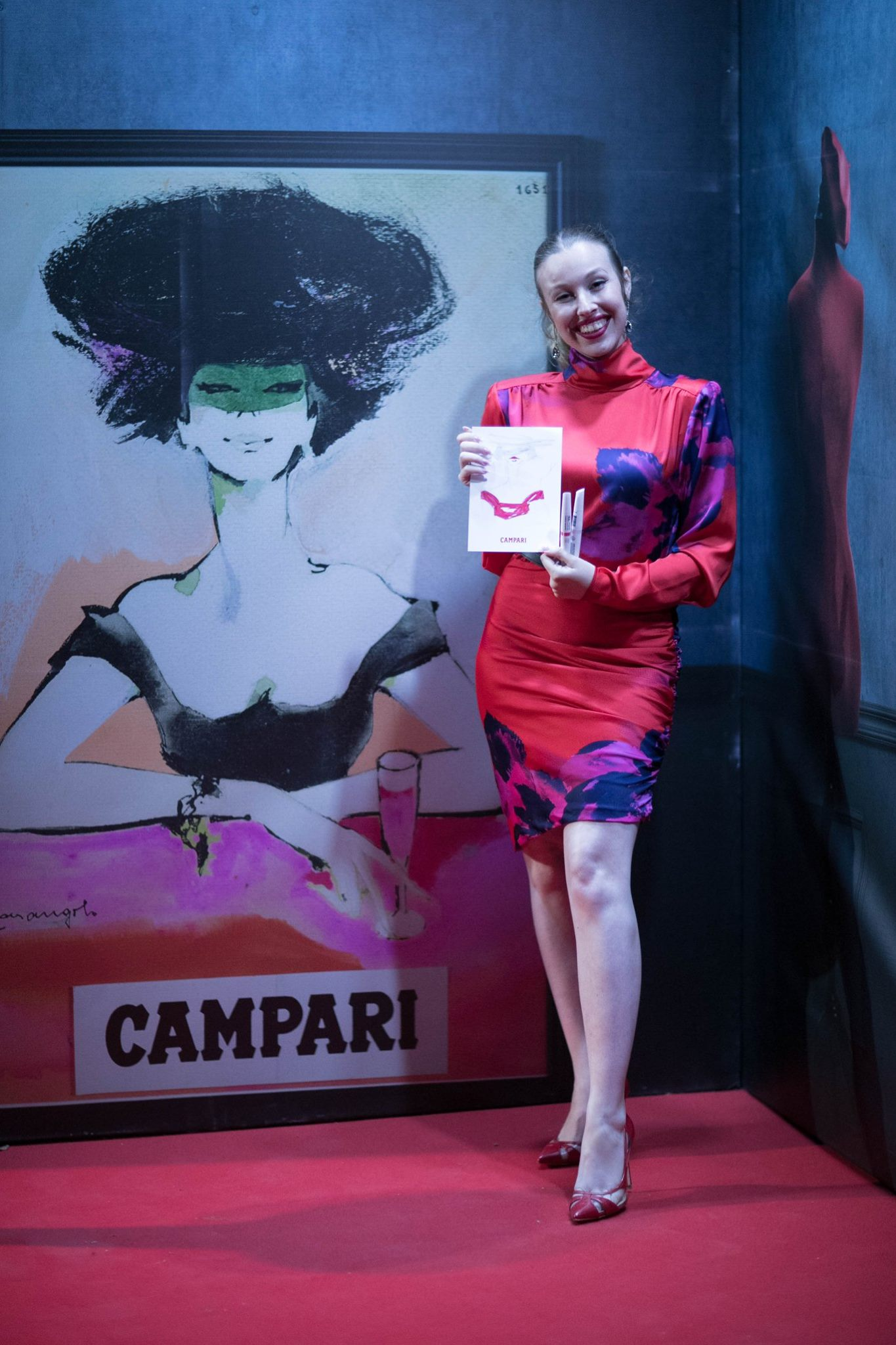 Malta Film Festival 2018 - Official illustrator for Campari at the Malta Film Festival 2018