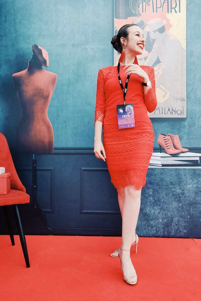 Malta Fashion Awards 2018 - Official Illustrator for Campari at the Malta Fashion Awards 2018