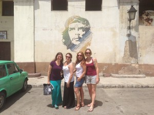 Easily the most famous face in Cuba... Che is one of about five revolutionary heroes.