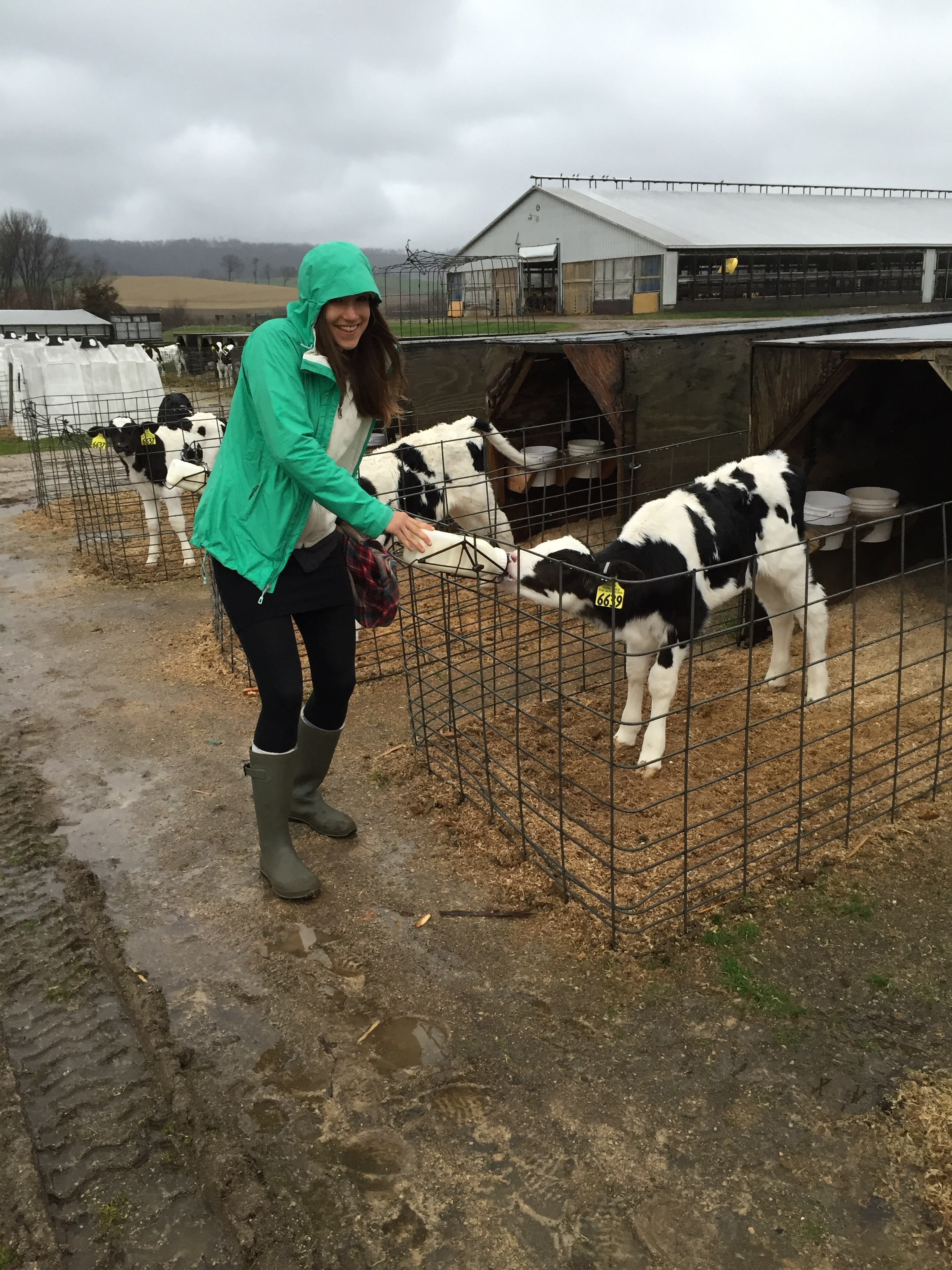 2016 tour dairy farm in rural Wisconsin exploring the topic of migrant worker health.