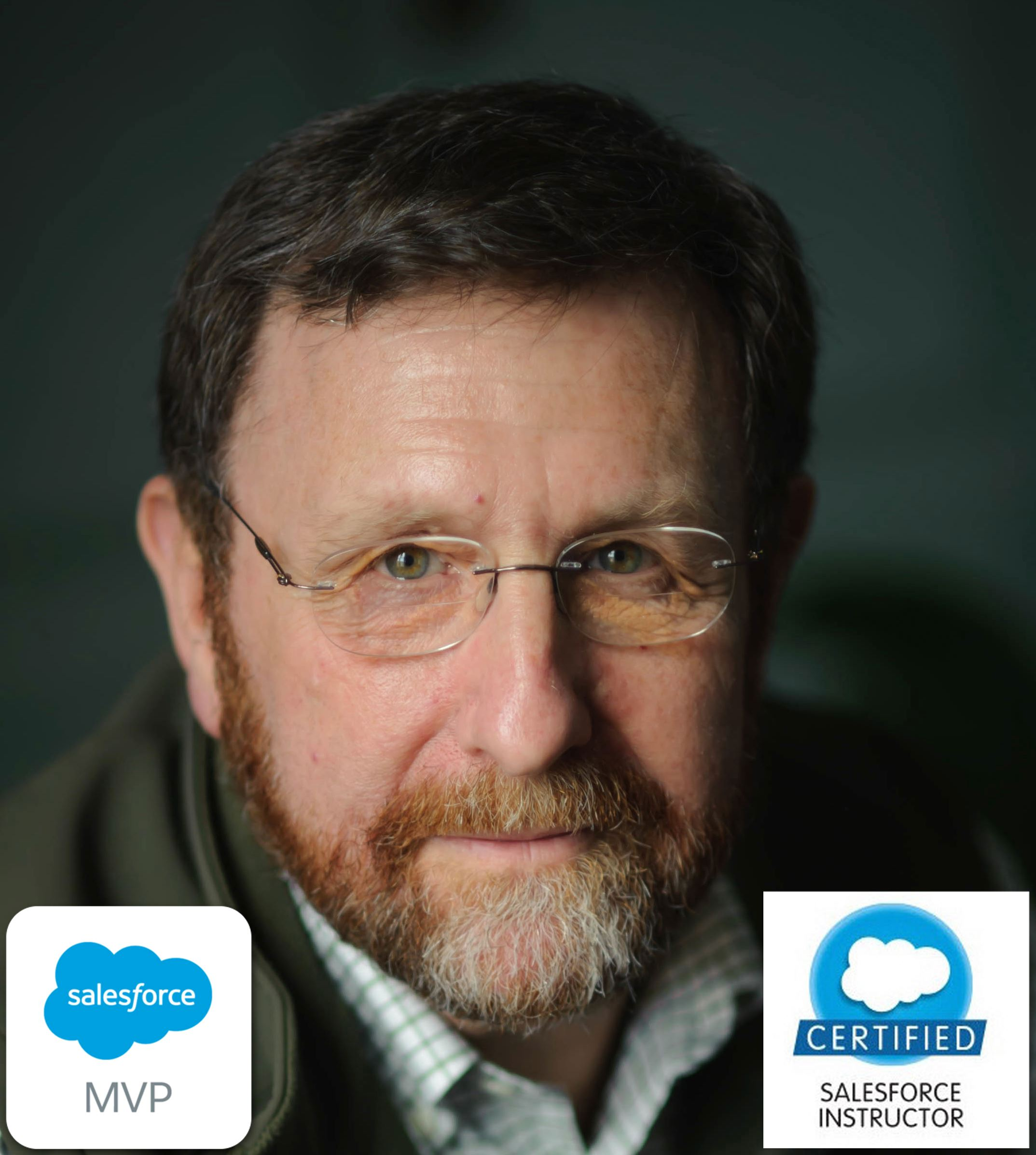 "Don RobinsSalesforce Technical Educator - Senior Technical Instructor - Producer of Salesforce Play By Play series on Pluralsight - Don Robins is a well known Salesforce MVP, instructor, author and speaker. A custom business application developer for more decades than he cares to admit, he focuses on Salesforce technical instruction and knowledge sharing. Certified as a Platform II Developer and an award winning Salesforce Instructor, he's presented and taught at annual Dreamforce conferences since 2010. He delivers Salesforce developer classes and workshops around the US and abroad, manages a team of instructors as a Salesforce Training Partner, and is the producer of the Pluralsight.com ""Salesforce Play By Play"" series."