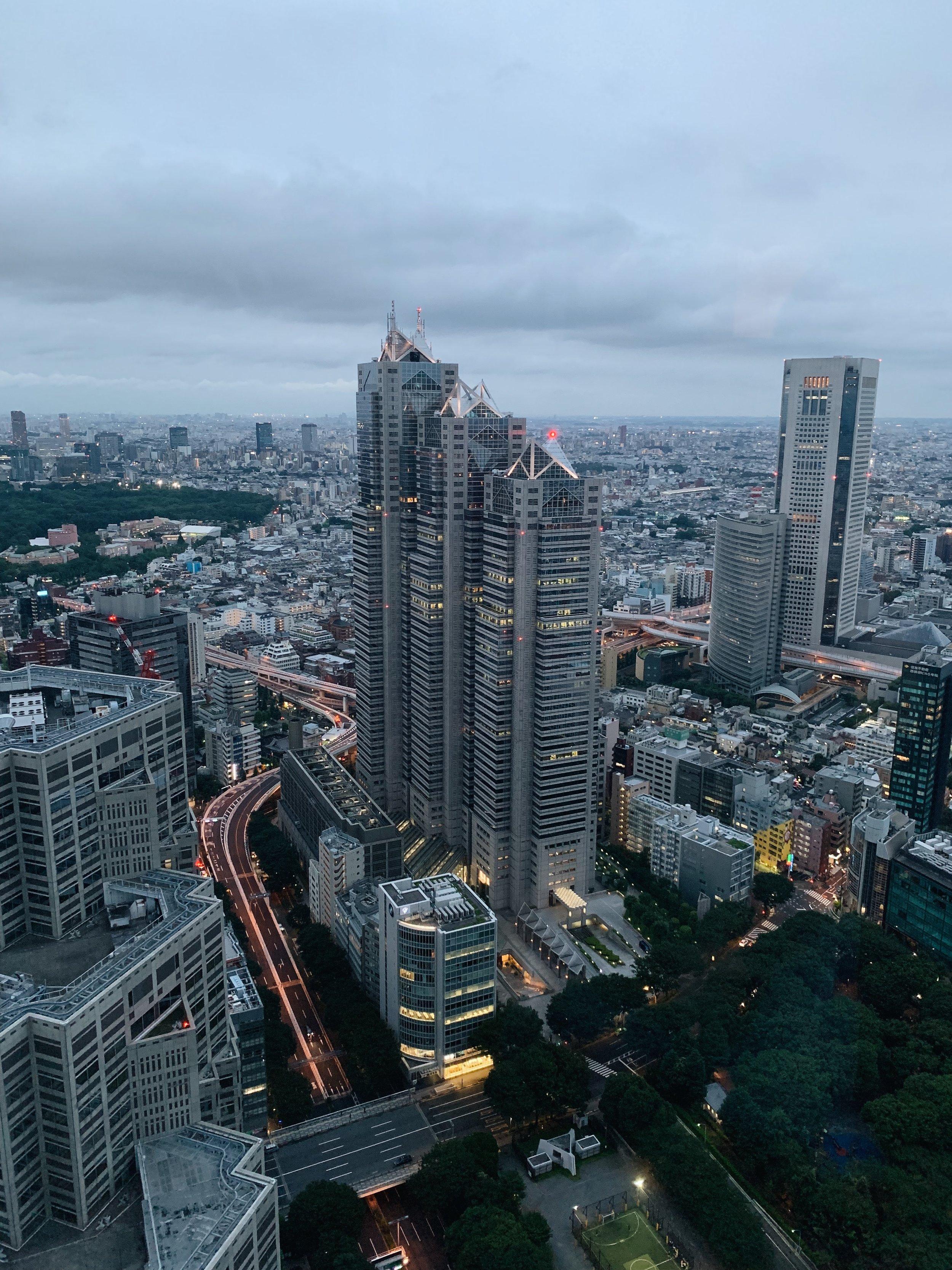 Tokyo Metropolitan Building Observation Deck