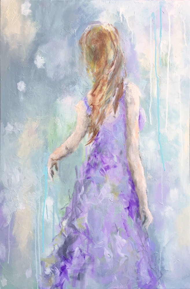 """Lavender Blue 24"""" x 36"""