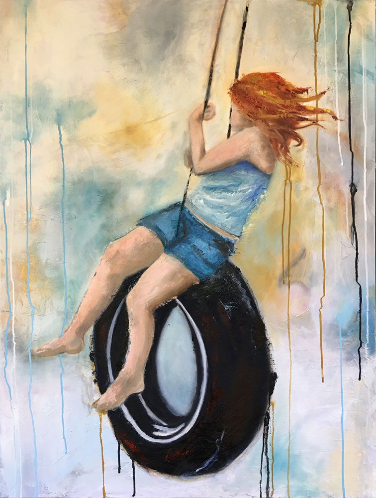 """Swing With me 30""""x40"""""""