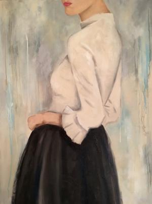 Original oil painting. Figure Painting. Kristin Cooney Atlanta Artist