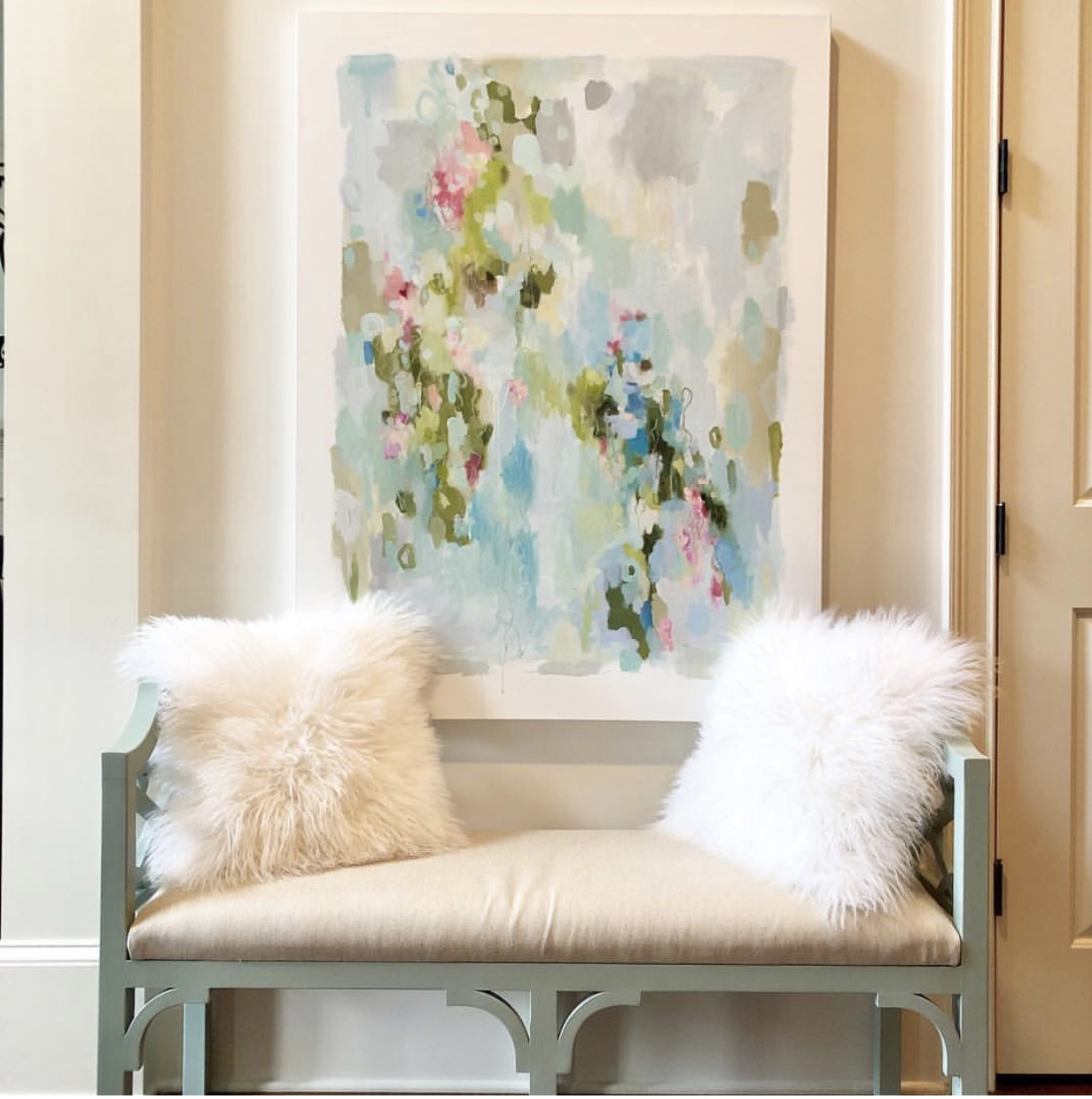 Oil Painting by Kristin Cooney Studio - Comfort and Joy 36x48