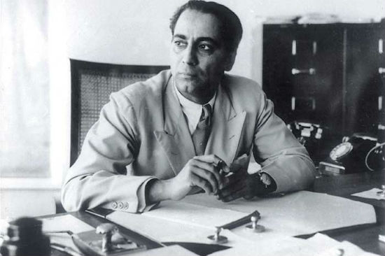 Homi Jehangir Bhabha, father of the Indian Nuclear Programme (Image Credit: Homi Bhabha Fellowship)