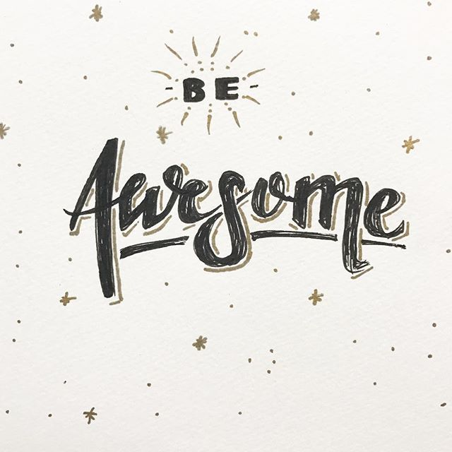 ✨Happy New Year✨ And don't forget to just be awesome.
