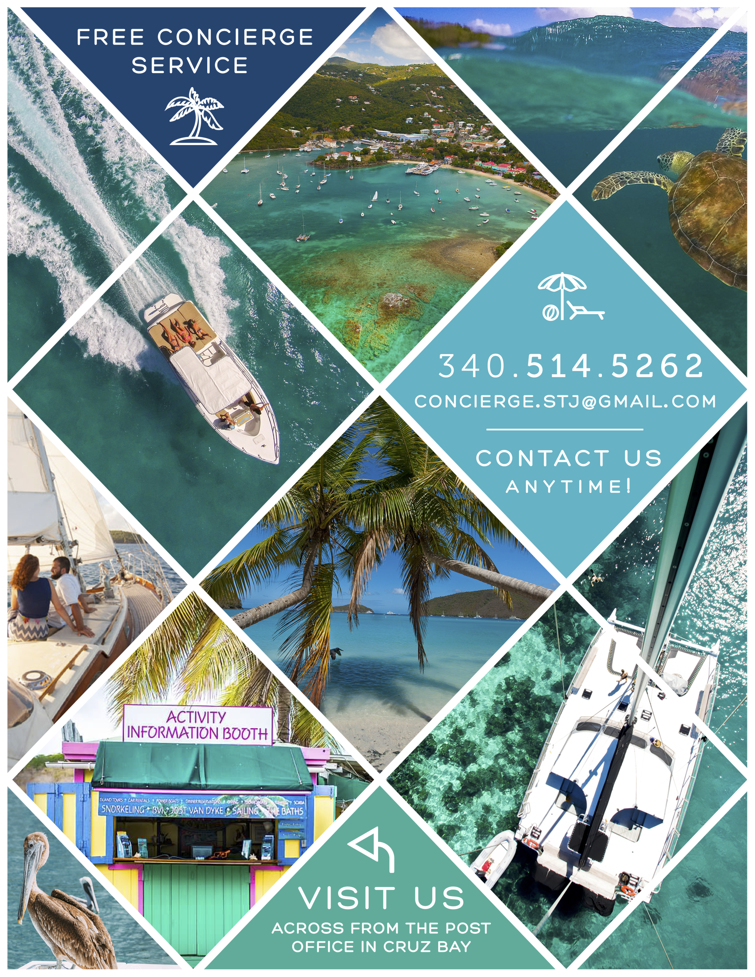 St. John Concierge Flyer