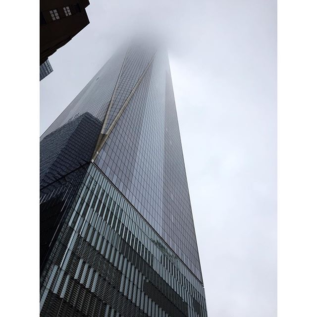 Into the eerie mist.