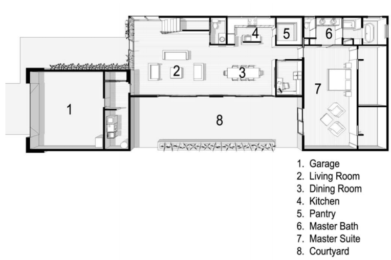 """OVERALL DIMENSION: Same as LV Unit   OVERALL SQ. FT.: Same as LV Unit    TYPICAL CEILING HEIGHT: 9'-0"""""""