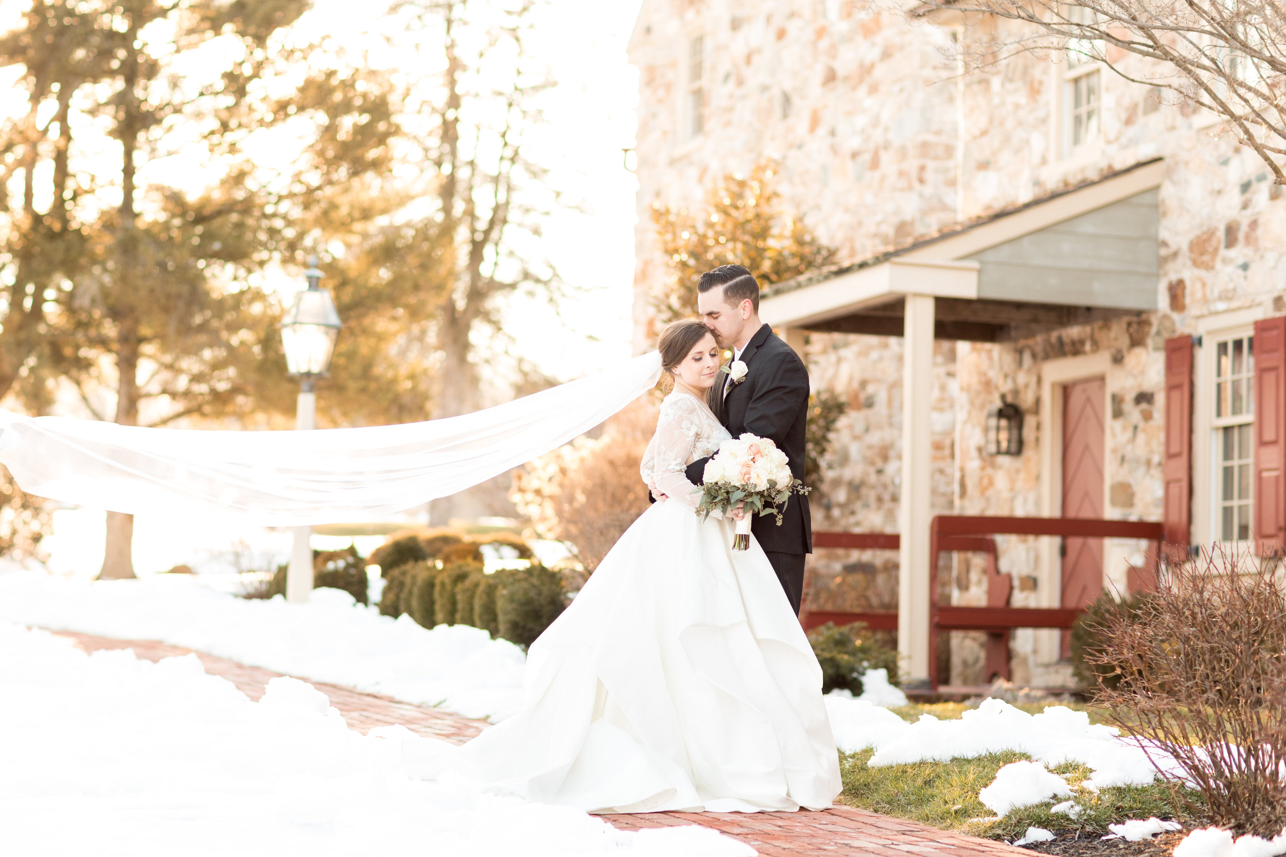 Leigh & Andrew | Brandywine Manor House